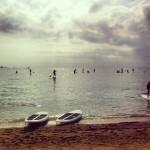 Faire du stand up paddle à Cannes.