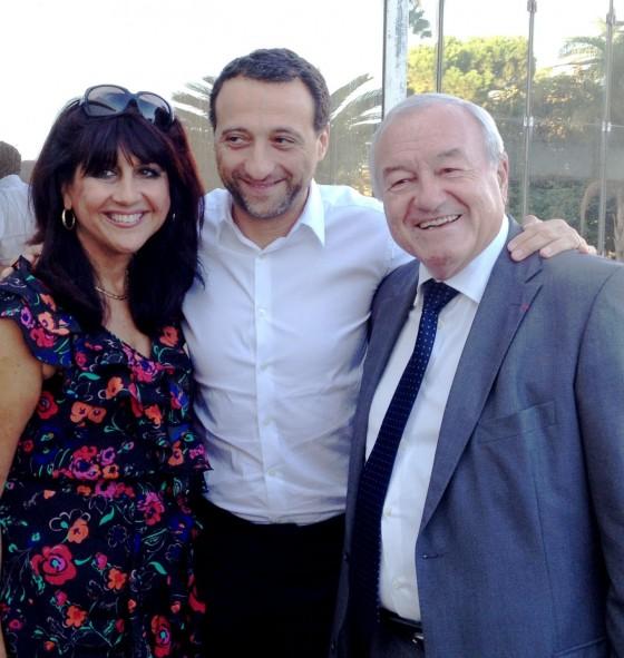 Marie-Chantal, Franck Tapiro et Bernard Brochand
