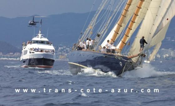 Régates Royales Cannes 2012 avec Trans Côte d'Azur