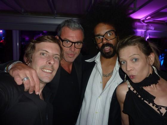 Edouard, Jérôme, Scotty et moi..