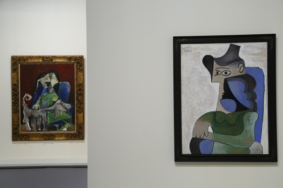 tableaux section Nahmad Expo Monaco Fete Picasso ©JC Vinaj
