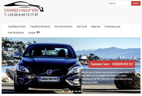 Service VTC Cannes Côte d'Azur